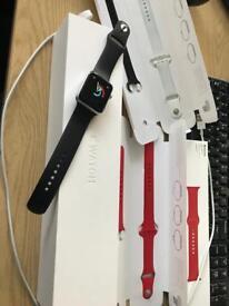 Apple Watch series 2 plus extra straos