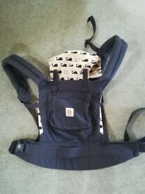 Baby carriers, Play Pen and Feeding Pillow - job lot or willing to sell separately