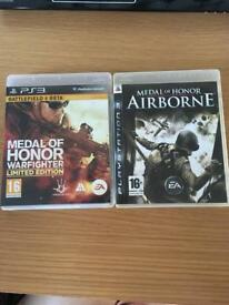 Ps3 Medal of Honor bundle