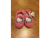 Brand New Hello Kitty Slippers sizes 10-11, 1-2, 3-4