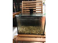 Small fish tank from smoke free home