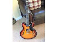 Harley Benton Gibson 335 Lookalike Guitar