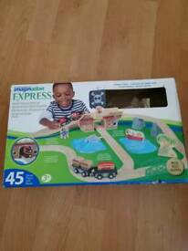 Pirate Treasure Train Set by Universe of Imagination Express from Toysrus - boxed