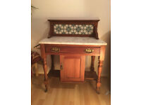 Oak Washstand - Good condition