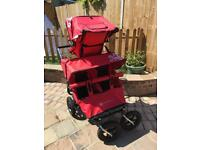 Triple or Double ABC Adventure Buggy Red