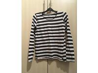 Black & white H&M top