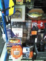 SUMMER & WINTER FISHING EQUIPMENT - RODS - REELS & MORE