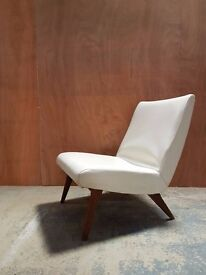 Pair of G Plan Gold Label Vintage 1960's Cocktail (Slipper) Chairs