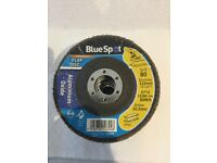10 flapping discs 110 mm heavy duty for se on metal or wood