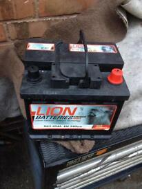 Lion heavy duty battery