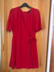 Women's size 12 Red Dress