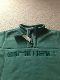 Men's Animal Fleece. New with tags