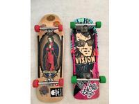 Vintage Reissue Jason Jesse and Vision Psycho Stick Skateboards