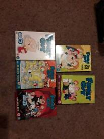 Family guy DVD box sets
