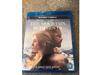 The mountain between us Blue-Ray Dvd