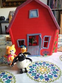 Timmy Time Nursery and Showtime set