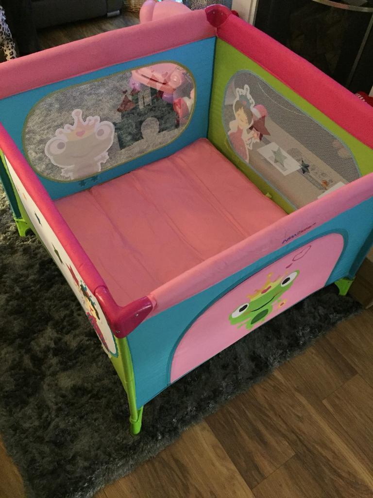 Princess themed playpen
