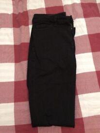 American Apparel Black Trouser