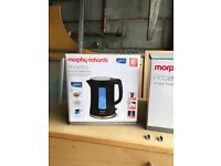 Morphy Richards Kettle with Brita Filter (Black New, Boxed and Unused)