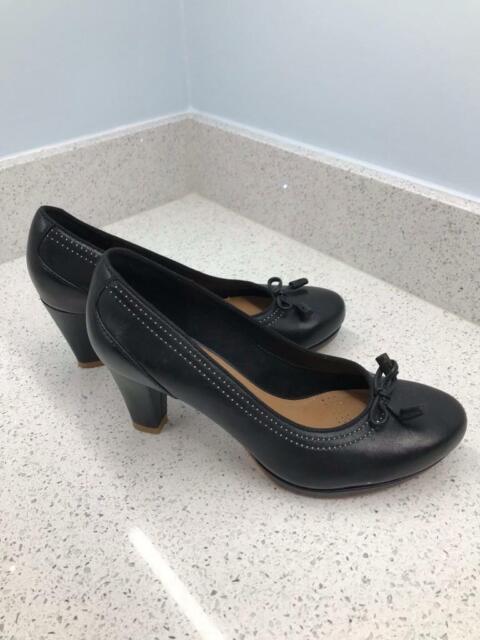11d09e3bb7e4 Clarks Chorus Bombay high heels black uk 5.5