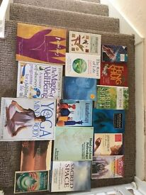 Mixed box of well being and spiritual books