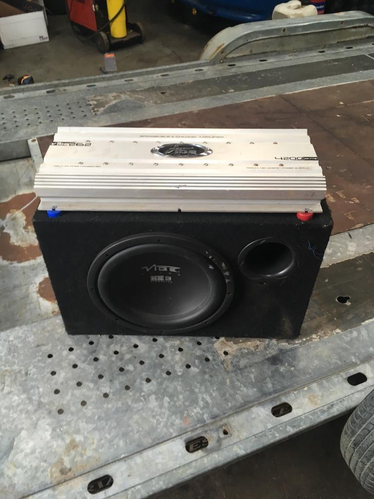 2 Subs Amps