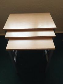 Nest of Tables, £10