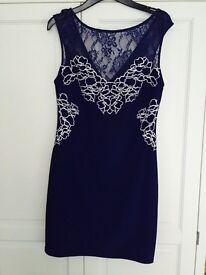 Dress, blue, lipsey