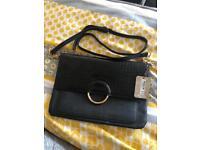 Accessorize black handbag