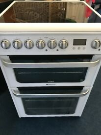 Hotpoint Ultima 60 cm Wide Electric Cooker 3 months Guarantee