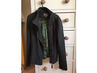 Dark grey Fever jacket. Size 8.