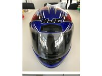 Hjc full face motorcycle helmet, used but in good condition