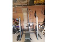 Incredible Home Gym for sale! Olympic Weights and all accessories