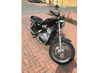 harley davidson sportster 883 6k miles last of carb model 06, immaculate bike will have 1 year mot