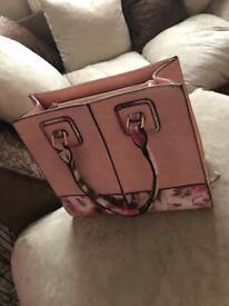 Gorgeous Pink Floral Handbag 💕