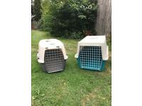 Animal cages for cats or rabbits
