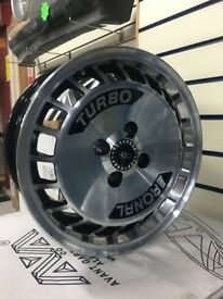 "15"" x 7"" Ronal Turbo ally wheels 4x100 VW"
