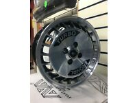 "15"" x 7"" Ronal Turbo ally wheels 4x100 VW"