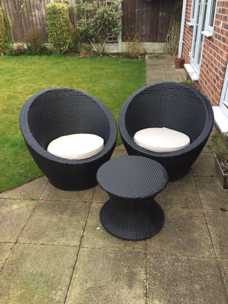 Rattan Garden Furniture Set [Stackable]   in North Anston, South ... for Stacking Rattan Garden Furniture  35fsj