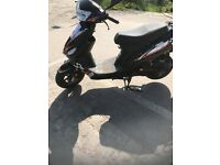 50cc scooter Longjia 2016 reg so no need for mot till 2019 in very good condition