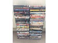70 DVD's. Job lot only £10!!