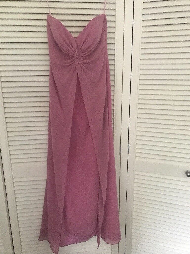 Rose pink bridesmaid dress /prom dress | in Selby, North Yorkshire ...