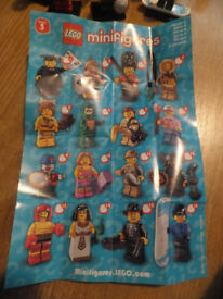 lego series 5 never played with ex condition
