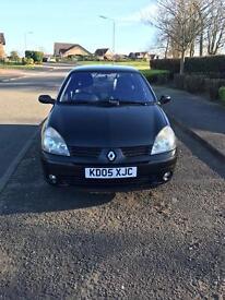 67K, MOT expires 31/3/18 Renault Clio Extreme 1.2L,