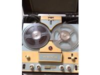 VINTAGE BUSH TAPE RECORDER TP 50 REEL TO REEL - PERFECT WORKING ORDER -