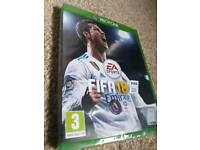 Xbox one Fifa 18 brand new and sealed