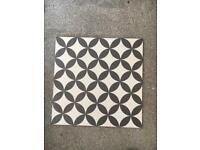 Geometric floor tiles new