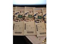 Rugby Ticket for tomorrow England v Argentina