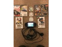 Sony PlayStation portable (PSP) plus games
