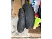 Dunlop Sportmax Motorbike Tyres Front and Rear